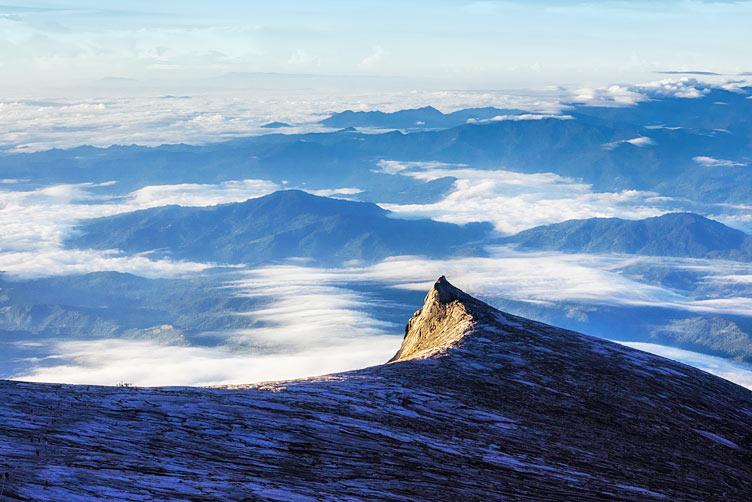 [트레킹] 키나발루산 정상등정(4,095m)