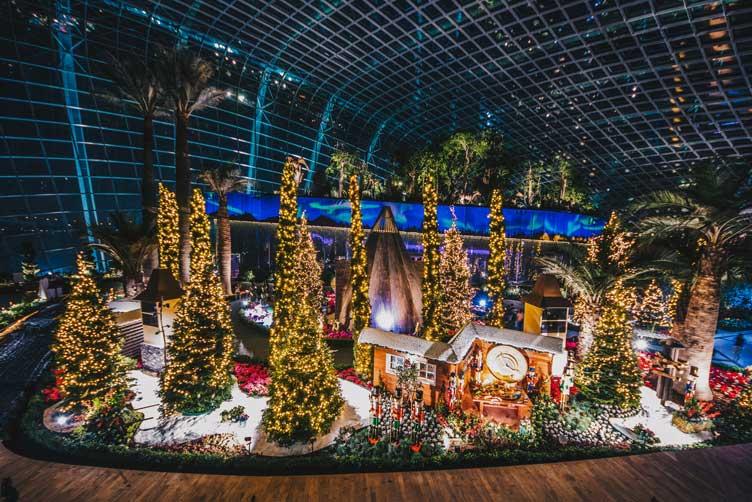 [싱가포르] 한 여름 밤의 크리스마스